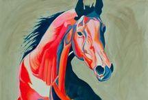 Cavalo - Abstrato e Contemporâneo