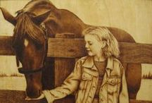 Cavalo - Marchetaria