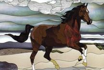 Cavalo - Vitral