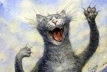 Les chats pétersbourgeois de Vladimir Rumyantsev