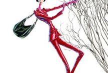 Les filiformes d'Arturo Elena / illustrateur de mode espagnol