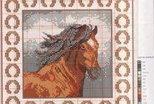 Cavalo - Ponto Cruz