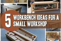 Workbench Ideas / Workbench Ideas for a Small Workshop