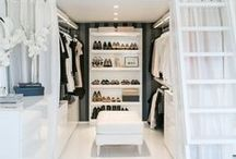 Walk-In Closet / (noun) : a closet that is large enough to walk around in.