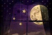 La lune est là, la lune est là, mais le soleil ne la voit pas ...