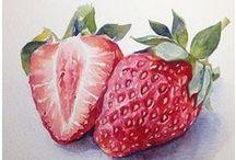 Aquarela - Frutas, Legumes e Vegetais