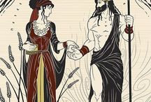 "Greek Gods ""Hades And Persefoni"""