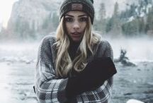 Moodboard - winter model photography