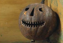 pumpkinman's attic / From goulees and ghosties and long leggety beasties and things that go bump in the night, Good Lord, deliver us. Scottish saying