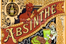 """absinthe.the green fairy / """"After the first glass of absinthe you see things as you wish they were. After the second glass you see things as they are not. Finally you see things as they really are, and that is the most horrible thing in the world."""" Oscar Wilde"""