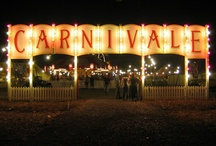 """dark carnivale / """" I like things slightly out of tune. It makes me feel...intoxicated almost...but in a good way. Like I'm at a carnival in a dream."""" Christine Anderson"""