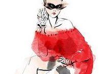 Fashion & Art illustrations