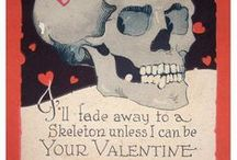 """valentines from hell / """"Run, sweetheart, run."""" Rae Hachton, Frankie's Monster / by mary johnson"""
