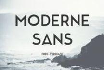Fonts / A webdesign és arculattervezéshez használható betűtípusok.