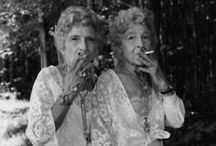 """marnee and dee stir up trouble / """"There are no good girls gone wrong- just bad girls found out."""" Mae West"""