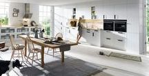Kitchens - Schuller White / White is always a good choice as a decorating colour – neutral and bright, it is adaptable and cheerful to look at. White is also a good basis for combining with accent colours or wood.