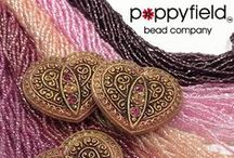 Gorgeous Beads and Things / Love what you see here? Find it at: http://webstore.poppybeads.com