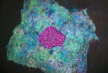 Fiber Art I have made / Fiber art, textile art I have made