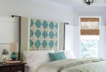 Decorating w/ Quilts / Decorating with quilts.
