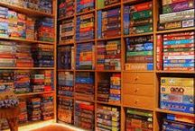 Board Game Shelf Envy / Board game shelves and storage solutions that make me drool.