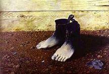 """Magritte """"Mon seul désir est de m'enrichir de nouvelles pensées exaltantes."""" / Peintre de la métaphysique et du surréel, Magritte est un grand peintre, Magritte n'est pas un peintre."""