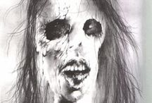 scary stories to tell in the dark / Did you ev-er think as a hearse goes by, that you may be...the next to die?