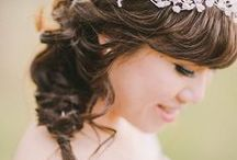 Wedding Hair / Beautiful beach wedding hairstyles for a relaxed bride.