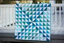 Half Sq Triangle Quilts