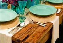 Tablescapes / Setting a lovely table