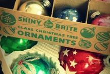 Shiny Brite Ornaments / These are my favorite vintage ornaments. Shame most of the ones my parents had got broken. I'd love to have them now.