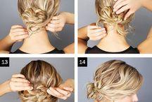 Hair Do's / Up style hair inspiration