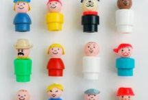 Fisher-Price / Vintage Fisher-Price toys and Little People.
