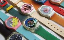 Swatch Watches / Swatch always had fun watches and I had tons of them.