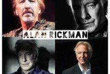Alan Rickman/Severus Snape / Alan as Severus and other roles. Such a great actor and too often overlooked. RIP