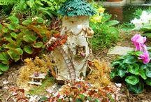 Fairies, Pixies & Gnomes.. Oh My! / Mystical finds in the garden... / by Janet Rahe