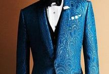 Blue themed wedding / Blue gowns for the Maids? Or maybe a daring blue gown for the bride! Or blue tux for the groom? Something blue is carried to the extreme with ideas for blue flowers for the bouquets, blue food, and the perfect blue wedding shoes.  / by Suzy Schettler