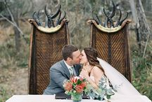 Safari Wedding/Jungle Theme / Think wild animal prints and the open Savannah with lions and elephants and gazelle. Out of Africa romance