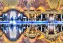 Panorama Examples / 360/180-degrees panorama at any multi-plane for circular fisheye.