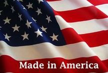 Made in U.S.A Promotional Products / Show your patriotic fervor and love for your nation through these promotional U.S.A made items.