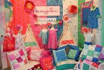 Inspiring Makes / A selection of the gorgeous things you could create with fabrics stocked at Heidi's Den!