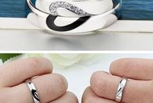 His & Her Matching Wedding Bands