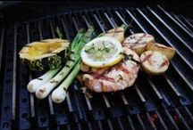 """A Griller's Diet / Healthy, lean and juicy """"grate"""" meals off the grill."""