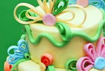 Fondant cakes / Ideas of birthday cakes or other special occasions!