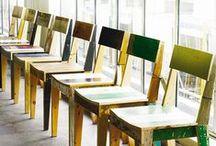 Sit down, please / Sillas, mesas y pequeño mobiliario