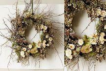 Wreaths & Door decor