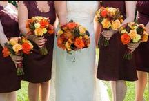 Fall Floral Arrangements / Fall floral arrangements from rustic, woodland, and rich elegance