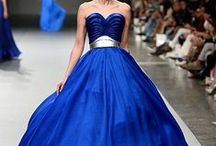 Bright Cobalt Blue/Royal Blue Wedding Palette Inspiration / by Suzy Schettler