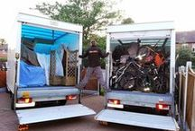 Removals In Action / Photos from past removal jobs we've carried out, both within York and also the wider Yorkshire area.