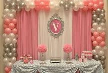 Party Time! / Parties, fiestas, decoration, events, centerpiece, decor, backdrop