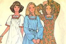 """1970s Vintage Sewing Patterns / This board is a collaboration of the Pattern Patter Team on Etsy highlighting women's sewing patterns from the 1970s. https://www.etsy.com/pages/patternpatter"""""""